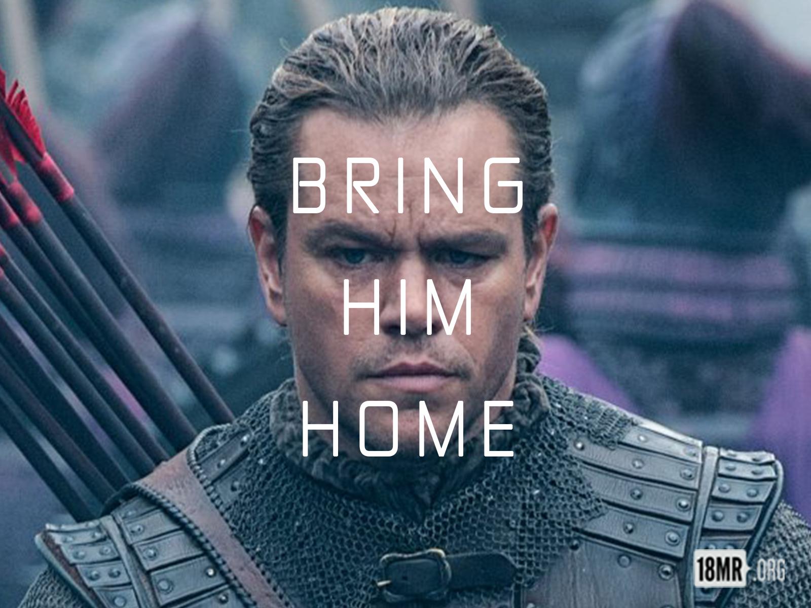 Chinese Embassy Ban Matt Damon BringHimHome